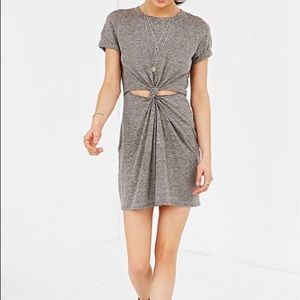 Honey Punch Cutout Tshirt Drey Grey L, Limited Qty